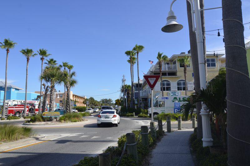 main streets on anna maria island