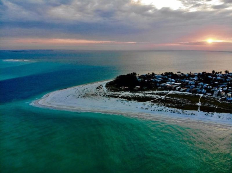 Sunrise over Bean Point in Anna Maria Island