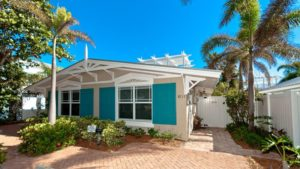 Front view of Anna Maria Island vacation rental
