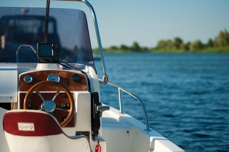 boat driver's seat