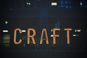 craft sign