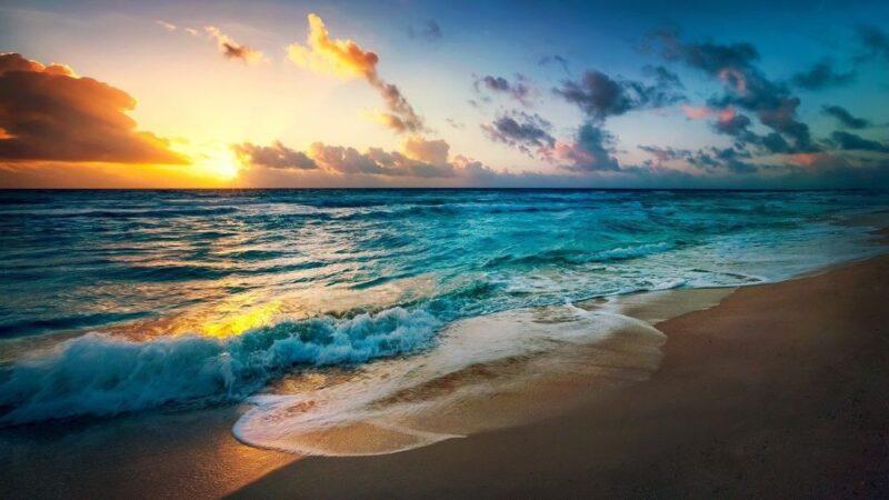ocean shore